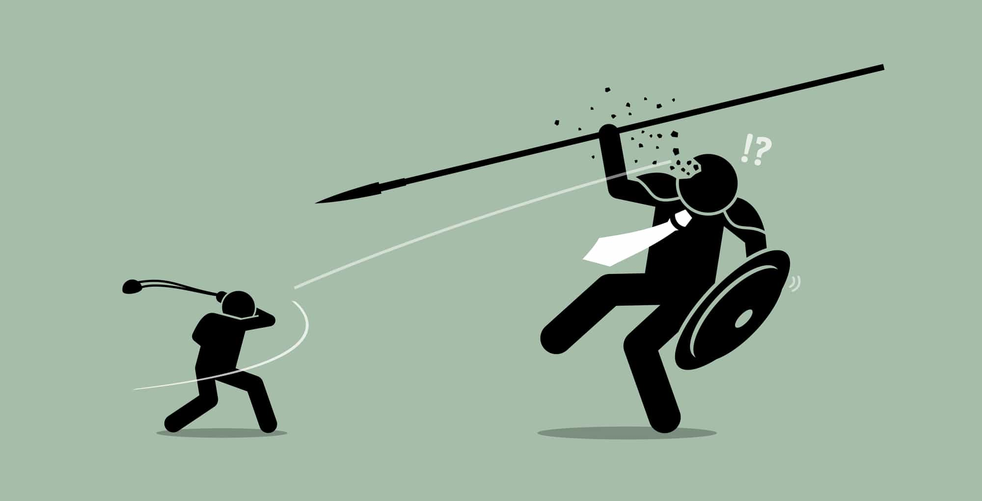 David v. Goliath. When you work with us, you will have the tools and confidence to compete, and win, against any competitor.